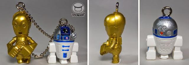 スターウォーズ×TOUMA C3PO&R2D2