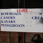 Sign at boat shed (54956)