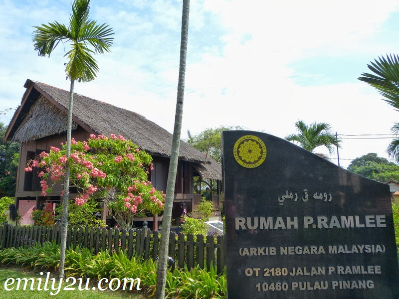 P. Ramlee's Birth House in Penang