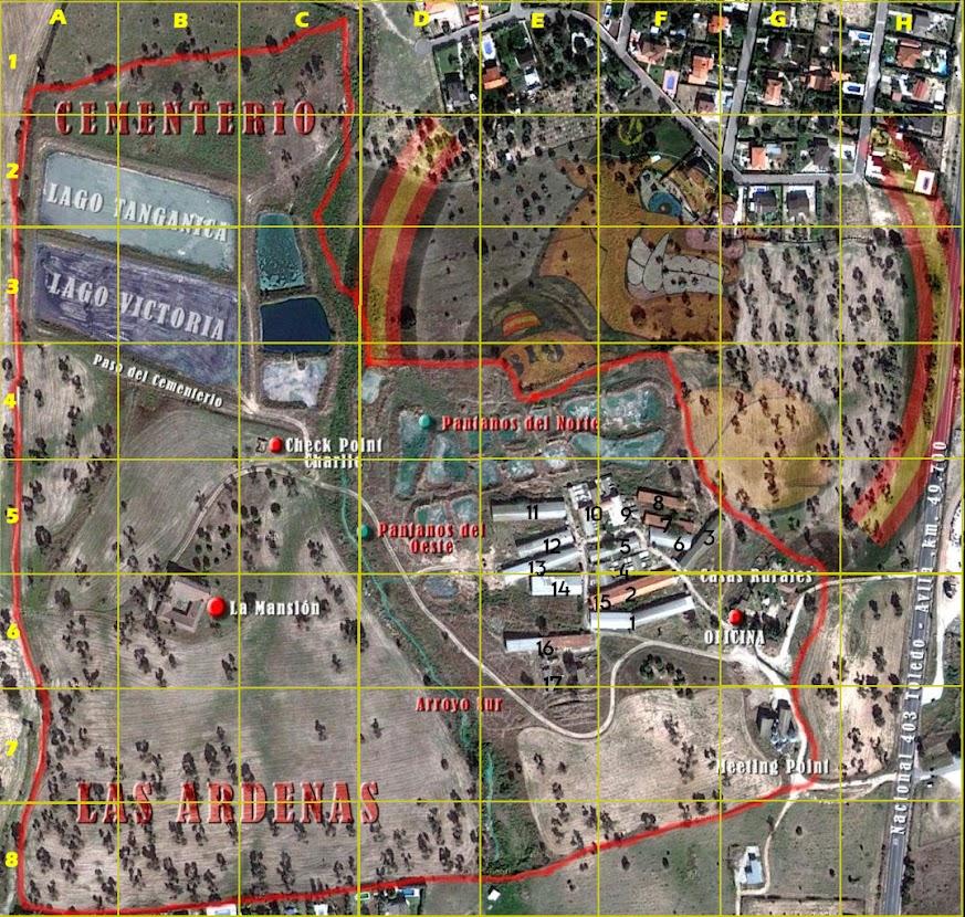EBOLA-2. Partida abierta. La Granja. 8-09-13. Mapa-cuadr%25C3%25ADcula.