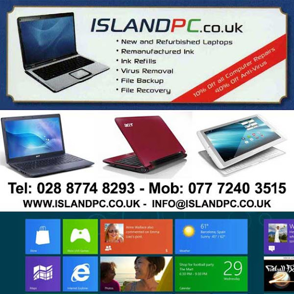 ISLAND PC flier services in Coalisland