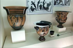 Cerámicas de colores – Museo Arqueológico de Antalya