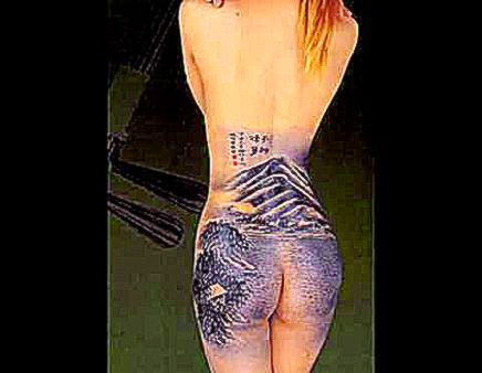 Body Art Painting of Chinese Ink Painting « Chinese Paintings Store