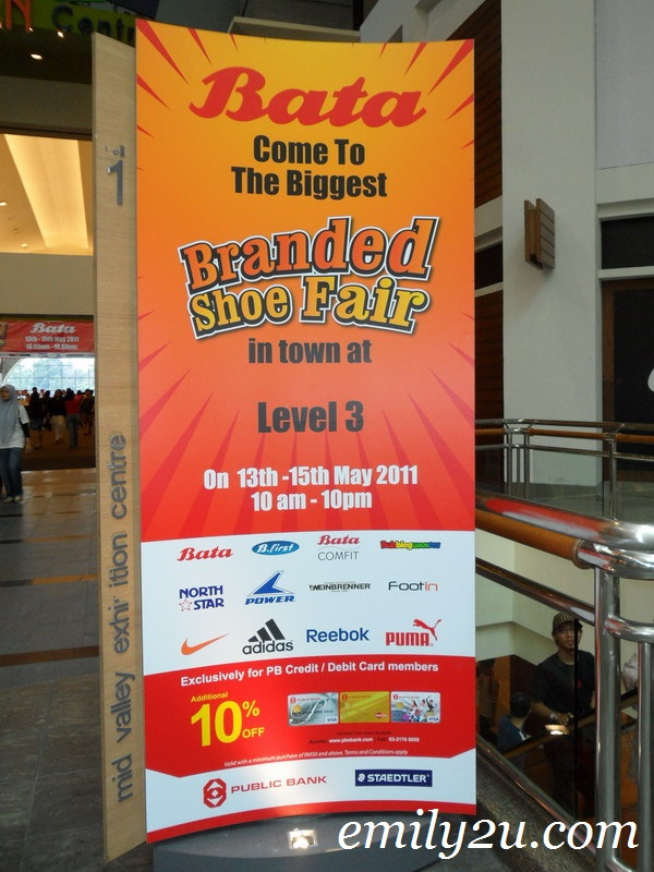 Bata Branded Shoe Fair 2011