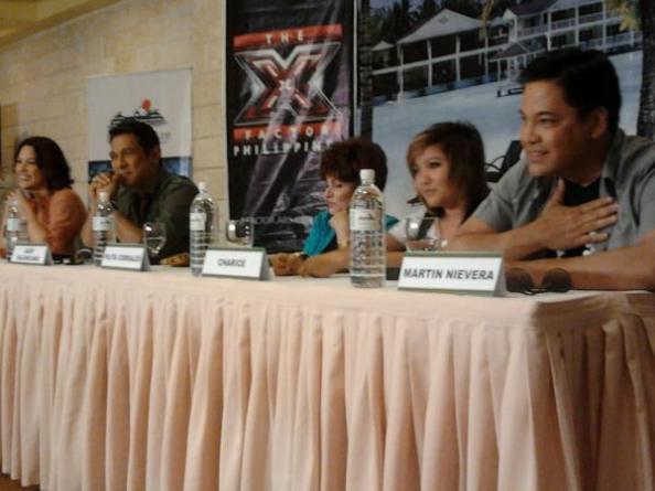 05/15/12 - 'The X Factor Philippines' Press Conference - Plantation Bay Resort & Spa, Cebu, Philippines Cebupresscon