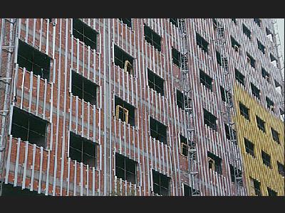 Instalación de fachada ventilada Priplastic