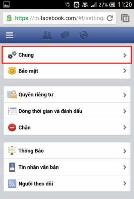 cach doi mat khau facebook buoc 7 Cách đổi mật khẩu Facebook trên điện thoại di động Phần .2