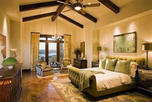 Thiết kế phòng ngủ kiểu Âu cho mùa thu đông ấm áp-4