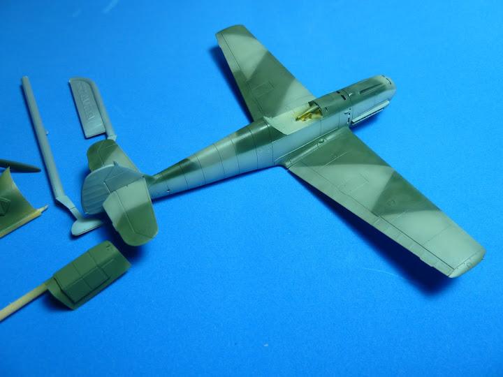 "Messerschmmit Bf 109 E-3 - Major Hans ""Assi"" Hahn P1040032"