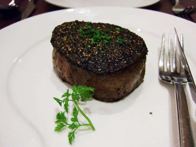 Chef Daniel's pepper steak