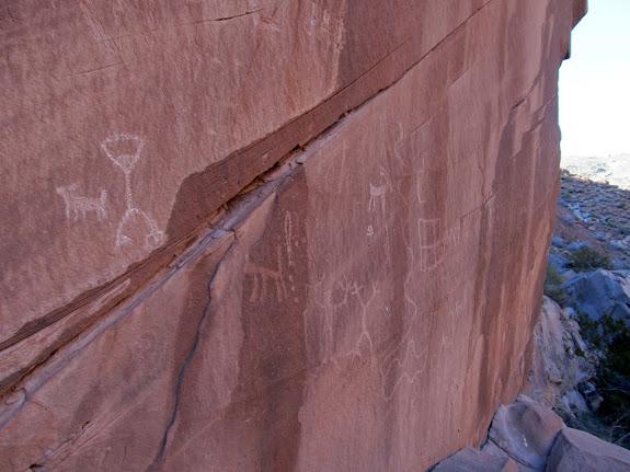 East Reef/Grapevine Wash petroglyphs