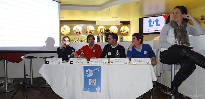 Tapas&Tweets, Fátima Ramirez, Fermín Gallardo, Manuel Aragón, Pablo López, @Mernissi, @fermingallardom, @maragon, @Silbon_Modatwitter, córdoba, SOLOMO, social, local, mobile, glace cocktails, marketing, 2.0, redes sociales, social, media, personal branding