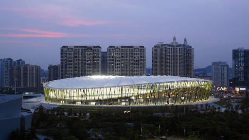Bao'an Stadium design by gmp