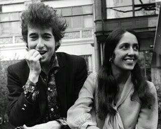 Боб Дилан и Джоан Баэз