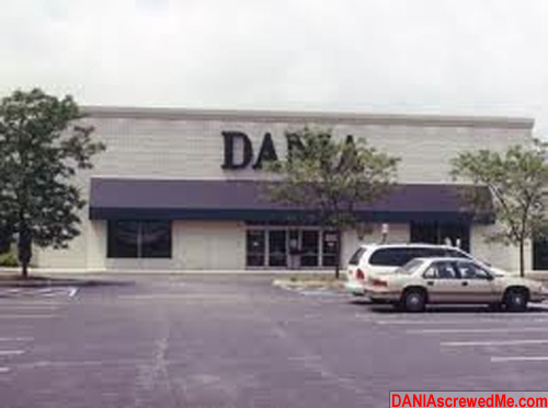 Shoppers Flee From Dania Furniture.