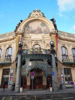 Casa Municipal (Obecní dům) de Praga