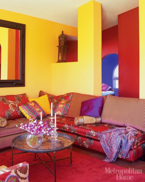 Morocco Design ELLE DECORs Lookbook Moroccan Interior