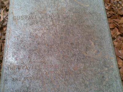 Gustav Hermann Krumbiegel Grave