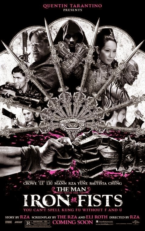 Poster Of The Man with the Iron Fists (2012) Full Movie Hindi Dubbed Free Download Watch Online At Alldownloads4u.Com