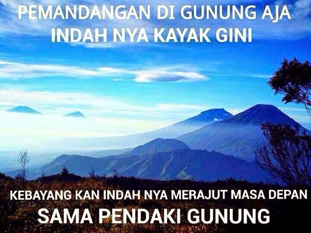 Fakta-fakta Pacaran Sama Pendaki Gunung