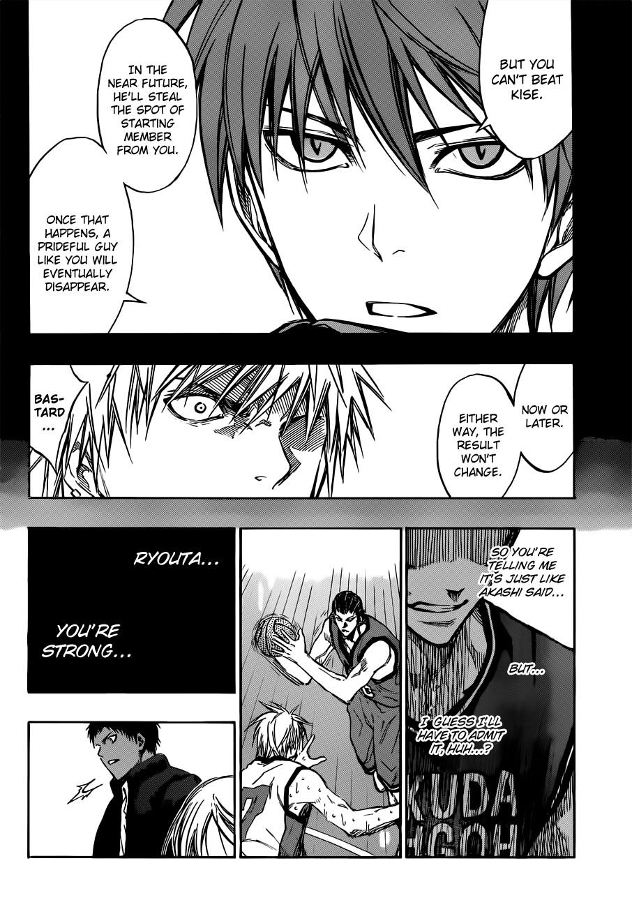 Kuroko no Basket Manga Chapter 173 - Image 08