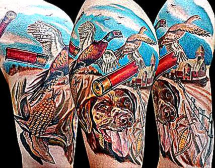 Hunting Tattoos For MenTattoo Ideas 2015  Tattoo Ideas 2015