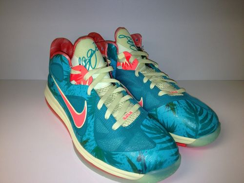 Nike LeBron 9 Low 8220LeBronold Palmer8221 Alternate 8211 Inverted Sample