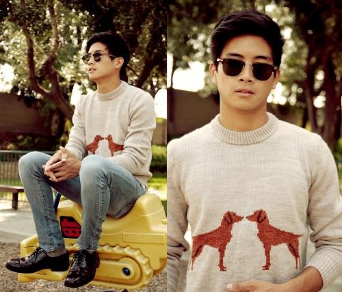 Inspiração cachorros - suéter