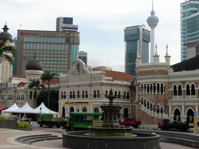 Merdeka Square e Sultan Abdul Samad Building