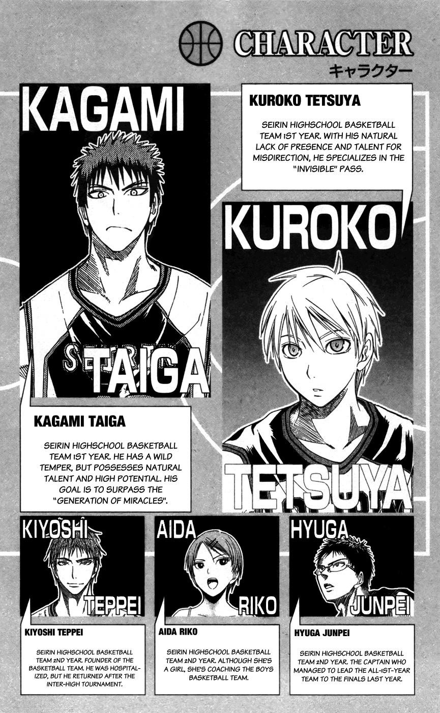 Kuroko no Basket Manga Chapter 127 - Image 04