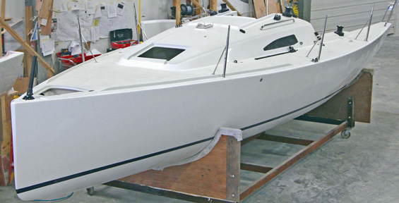 J/88 one-design family speedster sailboat