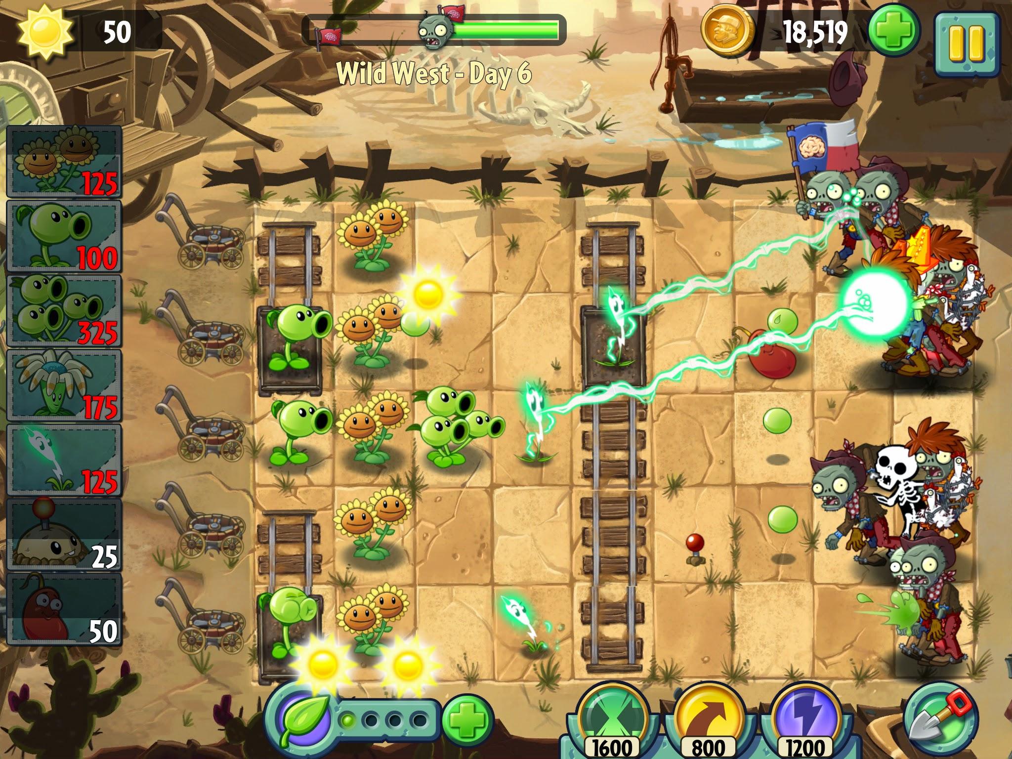 Plants Vs. Zombies 2: It's About Time lộ diện hình ảnh 20
