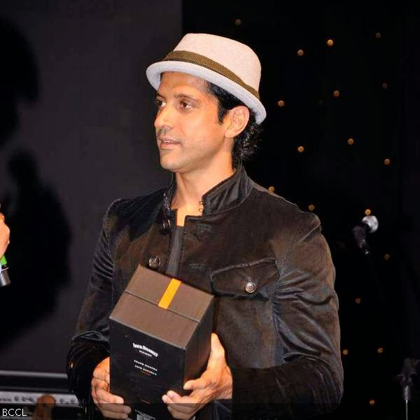 Farhan Akhtar during Rolling Stone awards, held in Mumbai. (Pic: Viral Bhayani)