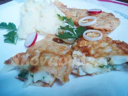 рыба фаршированная сыром