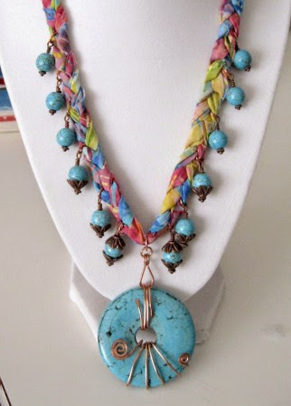 Turquoise Dreams Necklace by Poppy Johal