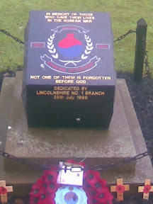 Korean War Memorial, Horncastle