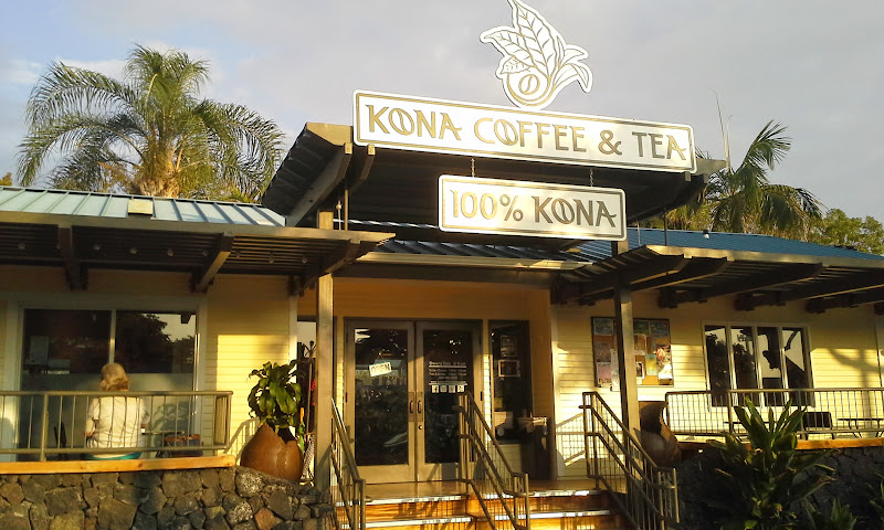 kona coffee & tea