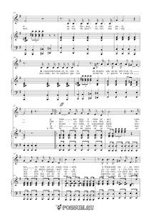 """Песня """"Подвиг солдата"""". Музыка М. Крупа-Шушариной: ноты"""