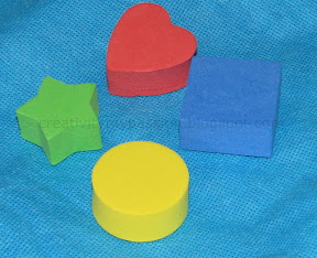 Diy Stamps Foam Counting Blocks Foam Stickers Craft