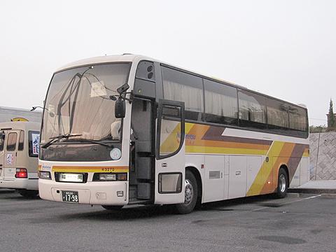 西鉄高速バス「さぬきエクスプレス福岡号」 3270 壇ノ浦PAにて