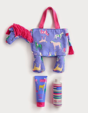 Winnie Horse wash bag by Joules