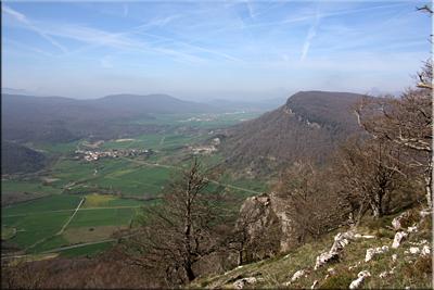 Ilarratza visto desde la cima de Murube