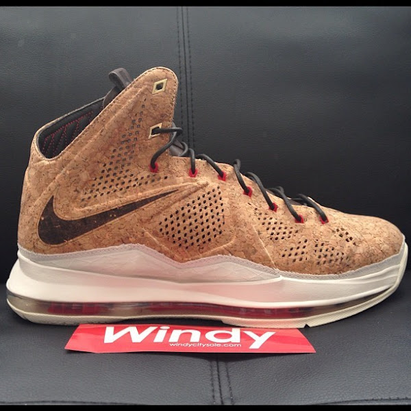 Another Look at Nike LeBron X Cork That8217s Slated for December