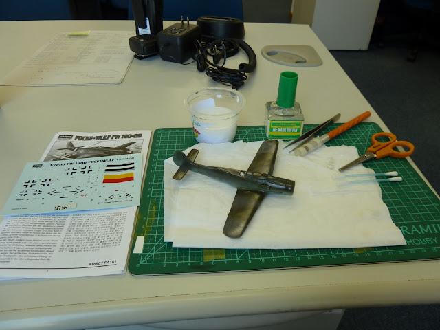 Focke Wulf Fw 190 D-9 - Academy - 1:72 - FINALIZADO! P1030445