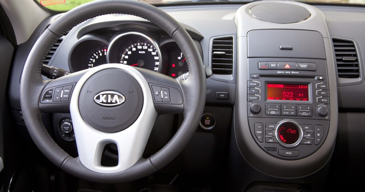 Syaiful Dev 2013 Kia Soul Interior Base Model Cool