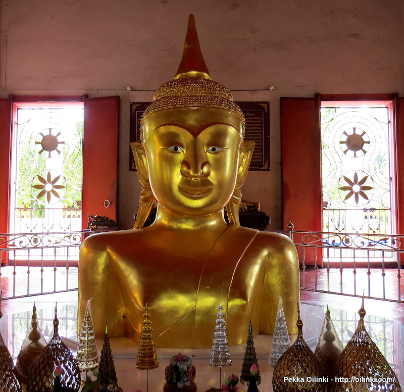 Buddha image, Wat Prathong, Thalang, Phuet