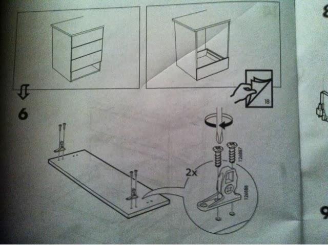 Ikea keittiö laatikon irrottaminen