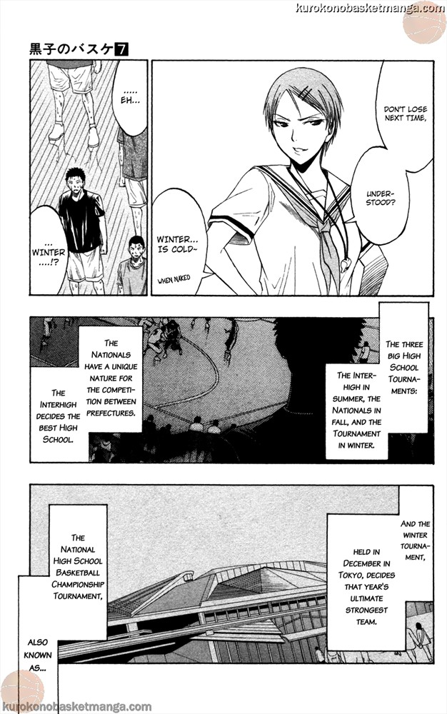 Kuroko no Basket Manga Chapter 53 - Image 0/017