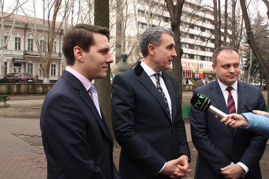 Principele Radu s-a întâlnit cu Prim-ministrul și Președintele Parlamentului Republicii Moldova
