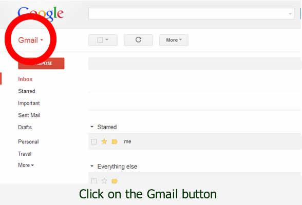 Find your contacts list in Gmail - with dorsetdog.com